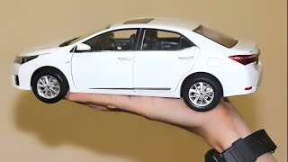 Download Unboxing of Toyota Corolla Altis 2014 1:18 Diecast Model Car Video