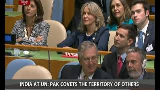 Download India slams Pakistan at UN for remarks on Kashmir Video