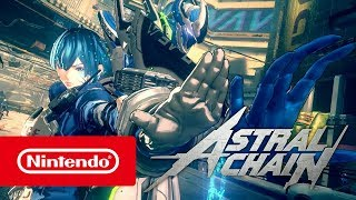 Download ASTRAL CHAIN - Action trailer (Nintendo Switch) Video