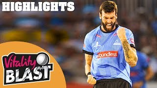Download Sussex v Hampshire | Topley Takes 3 In 4 Balls! | Vitality Blast 2019 - Highlights Video