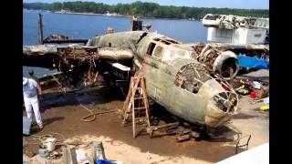 Download Dolittle Raider aircraft salvaged Video