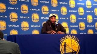 Download Kevin Durant postgame interview, Warriors (16-2) vs ATL: Draymond's defense, Ian Clark's shot Video