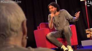Download Russell Brand on revolution, democracy and Vivienne Westwood   Guardian Live Video