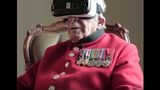 Download Twine - World War Two veteran uses VR for first time (Remembrance Day, 2016) Video