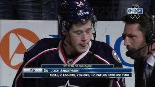 Download Blue Jackets' Josh Anderson says Scott Hartnell makes him 'laugh every day' Video