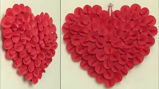 Download Best Out Of Waste Idea 2018 || Heart Wall Hanging Craft Idea || DIY Room Decor Idea || Handmade Video