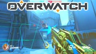 Download MY FIRST GOLDEN GUN! - OVERWATCH 3v3 ELIMINATION with Josh & Simon Video