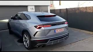 Download Lamborghini Urus Startup Video