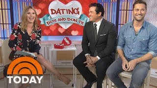 Download Dean Cain and Ryan Eggold Share Their Dating Do's and Don'ts | TODAY Video
