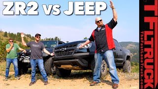 Download Chevy ZR2 vs Jeep vs Cliffhanger 2.0: Our Toughest Off-Road Test Video