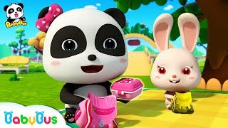 Download Baby Panda's Spring Picnic | Sharing Song for Kids | BabyBus Toys, Cooking Pretend Play | BabyBus Video