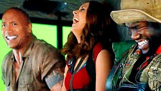 Download JUMANJI 2 Bloopers and Hilarious Footage On Set Video