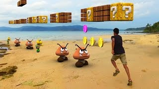 Download Super Mario Run In Real Life Video