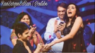 Download Ravi Dubey proposes her better half Sargun Mehta on the Nach Baliye 5 stage!   SaRavi   NB5   Video