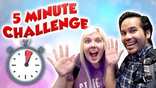 Download 5 minute arcade challenge at City Fun Center - Who will win more tickets? Video