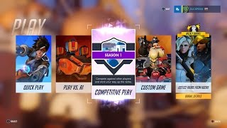 Download Overwatch Competitive Play is Now Live on PS4 with version 1.04! Video