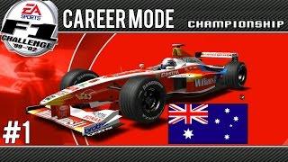 Download F1 Challenge 99-02   Career Mode   Part 1 Australia Video