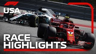 Download 2018 United States Grand Prix: Race Highlights Video
