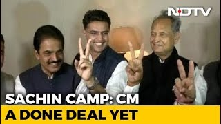 Download Sachin Pilot's Appeal For Calm As Wait For Chief Minister Sparks Protests Video