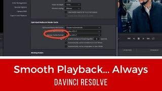 Download Smooth Playback...Always (DaVinci Resolve) Video