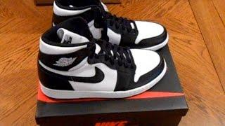 Download Air Jordan 1 Retro High OG ″Black/White″ Unboxing, Review & On-Foot Video