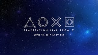 Download PlayStation® Live from E3 2017 featuring the Media Showcase | US English Video