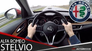 Download Alfa Romeo Stelvio Q4 280 HP POV Dynamic Test Drive + Acceleration 0 - 200 km/h Video