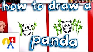 Download How To Draw A Cartoon Panda Video