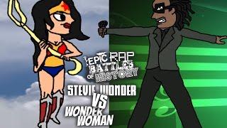 Download Stevie Wonder vs Wonder Woman Fan-Art Video