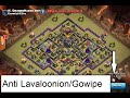 Download TownHall 9 War/Trophy Base Anti Lavaloon/Gowipe | Air Sweeper + Replays Video