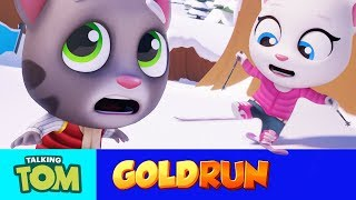Download Talking Tom Gold Run - Epic Snow Run (NEW Update Trailer) Video