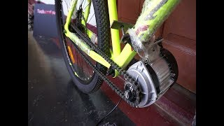 Download Build a powerful Electric Bicycle at home(BLDC 750W MOTOR) Video