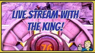 Download Fallout 76: Live Stream With The King (DLC: Wild Appalachia) Video
