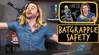 Download Batman Grappling Hook Safety   Because Science Footnotes Video