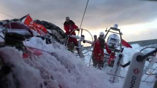 Download Team AzkoNobel - Volvo Ocean Race footage Video