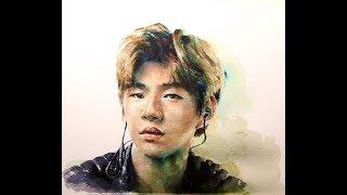 Download watercolor portrait speed painting & 6X video/ 인물수채화, 얼굴그리기 Video