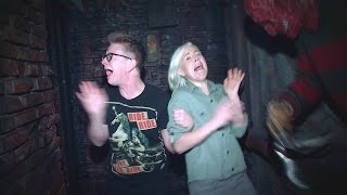 Download 'The Tyler Oakley Show': A Haunted House with Hannah Hart Video