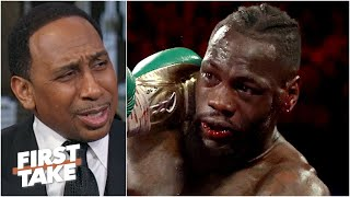 Download Stephen A. reacts to Tyson Fury vs. Deontay Wilder II: I've been having nightmares! | First Take Video