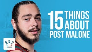 Download 15 Things You Didn't Know About Post Malone Video