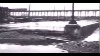 Download La crue de 1910 à Paris (Seine) - images d'archive Video