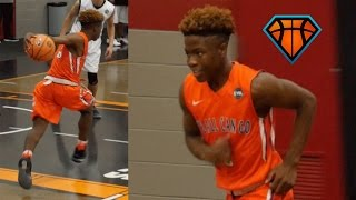 Download 7th Grader Zion Harmon Is The YOUNGEST Player To Ever Play In The EYBL!!   Elite 2021 Point Guard Video