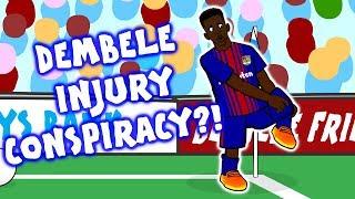 Download 🤔DEMBELE INJURY CONSPIRACY?!🤔 Video