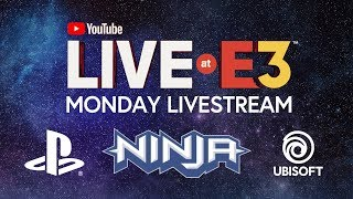 Download YouTube Live at E3 2018: Monday with Ninja, Marshmello, PlayStation, Ubisoft, Todd Howard Video