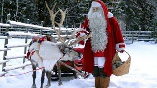 Download Santa Claus Village in 4K - Rovaniemi Lapland Finland - kids meet Father Christmas Video