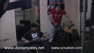 Download 6x Mr. Olympia Dorian Yates and NABBA Pro Bodybuilder Marc Lobliner Train Back Video