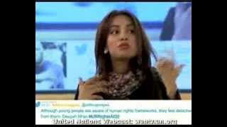 Download Deeyah Khan speaks at the United Nations - Geneva, Dec 2013. Video