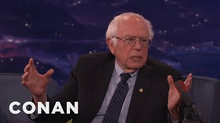 Download Senator Bernie Sanders Is Still Sick Of Hearing About Hillary's Emails - CONAN on TBS Video