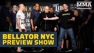 Download Bellator NYC Preview Show - MMA Fighting Video