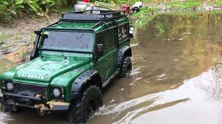 Download Green Traxxas TRX-4 Limited Edition at WSW Fort Włochy | RC Nennox Video