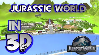 Download JURASSIC WORLD NUBLAR ISLAND IN 3D!!!! - MADE WITH UNITY Video